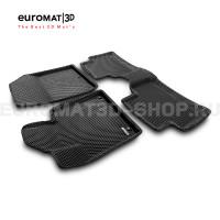 3D коврики Euromat3D EVA в салон для Kia Sorento (2020-) № EM3DEVA-002900